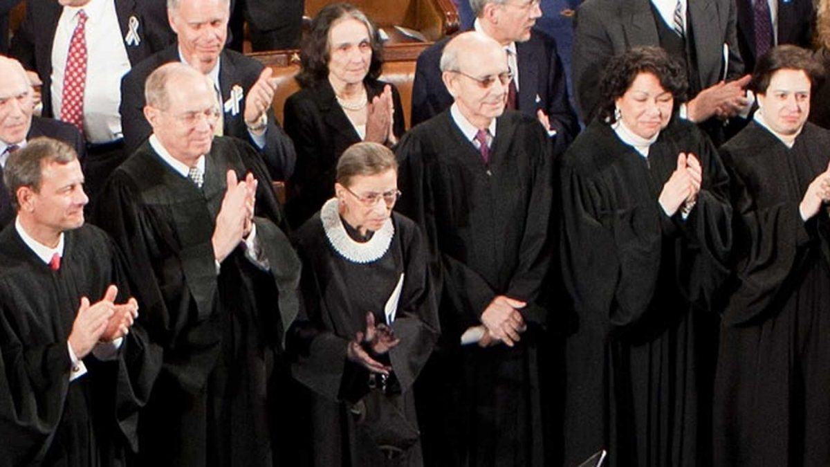 Image of Supreme Court Justices