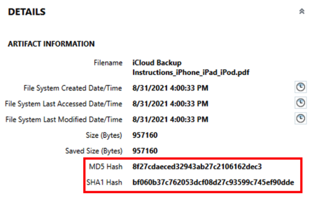 Image for Details About Capturing a Hash File